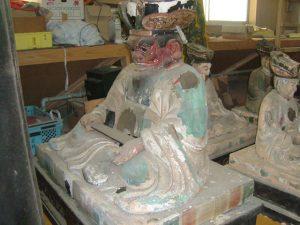 彩色仏像修復