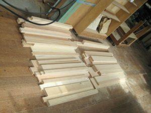 木地工程 木取り