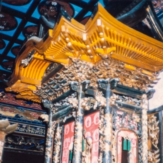 寺院仏具 施工前